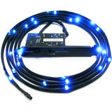 NZXT Sleeved LED Kit - Two Meters, Blue