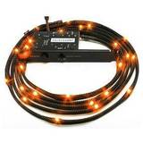 NZXT Sleeved LED Kit - Two Meters, Orange