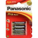 Panasonic Pro Power Alkaline battery R03/AAA, 4 Pcs, Blister