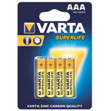 VARTA zinc carbon batteries R3 (AAA) 4pcs superlife