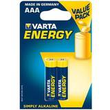 VARTA Alcaline batteries R3 (AAA) 2pcs energy