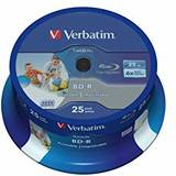 BluRay BD-R SL DATALIFE Verbatim [ Spindle 50 | 25GB | 6x