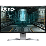 Gaming EX3203R Curbat 31.5 inch 2K HDR 4 ms Silver-Black FreeSync2 144 Hz USB C