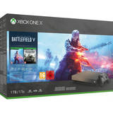 Xbox One X 1TB Battlefield V Gold Rush Special Edition