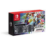 Switch Gray Joy-Con + Super Smash Bros Ultimate Edition