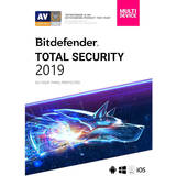 Total Security Multi-Device 2019, 5 Dispozitive, 1 An, Licenta noua, Retail