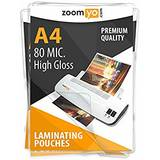 Document Laminating Pouches A4 2x125 mic, gloss - 100 pcs