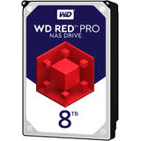 Internal HDD WD Red Pro 3.5'' 8TB SATA3 256MB 7200RPM, 24x7, NASware™