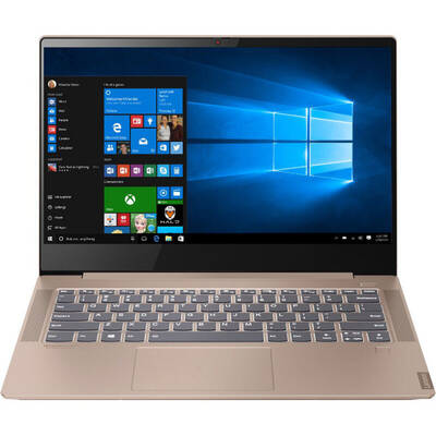 "Ultrabook Lenovo 14"" IdeaPad S540, FHD IPS, Procesor AMD Ryzen 7 3700U (4M Cache, up to 4.0 GHz), 8GB DDR4, 512GB SSD, Radeon RX Vega 10, Win 10 Home, Copper"