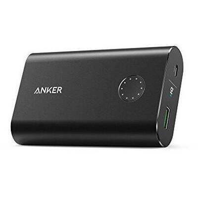 Baterie externa Anker PowerCore+ 10050 mAh Qualcomm Quick Charge 3.0 negru