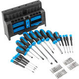 Set of screwdrivers and bits with magnetism 50 pcs